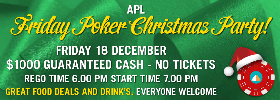 APL Friday Poker Christmas Party