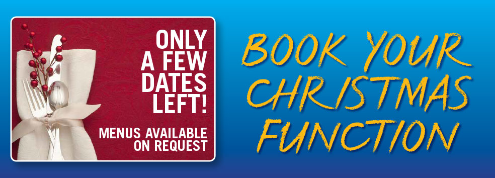 XMAS FUNCTION ROOM BOOKINGS - only a few dates left