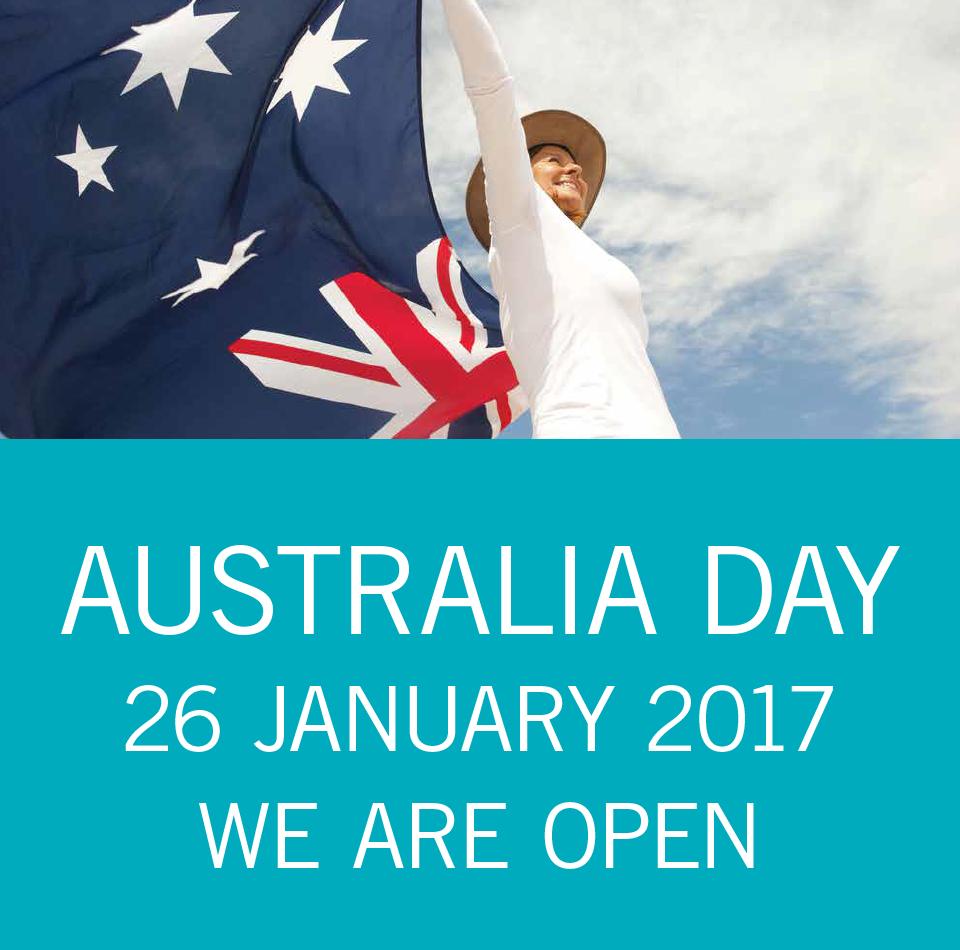Australia Day Thursday 26 January 2017