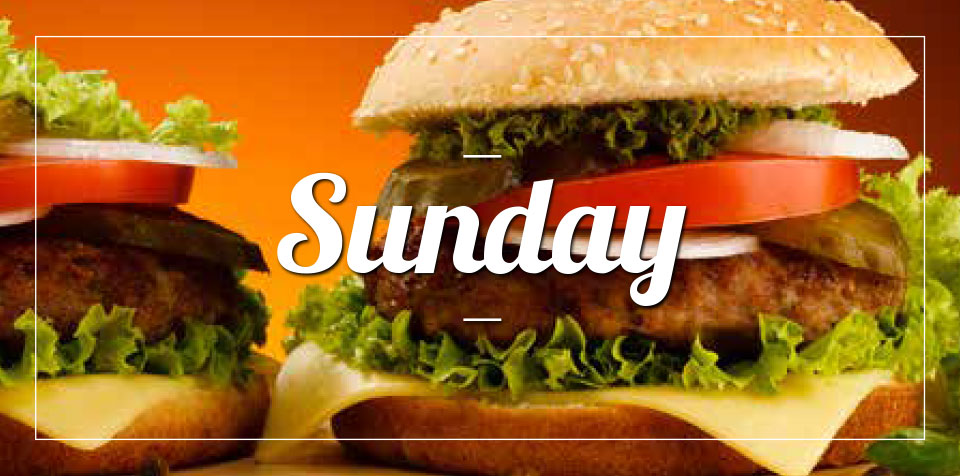 SUNDAY MEAL SPECIAL