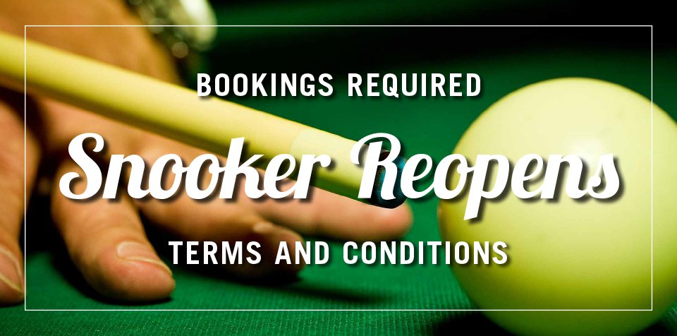 SNOOKER REOPENS